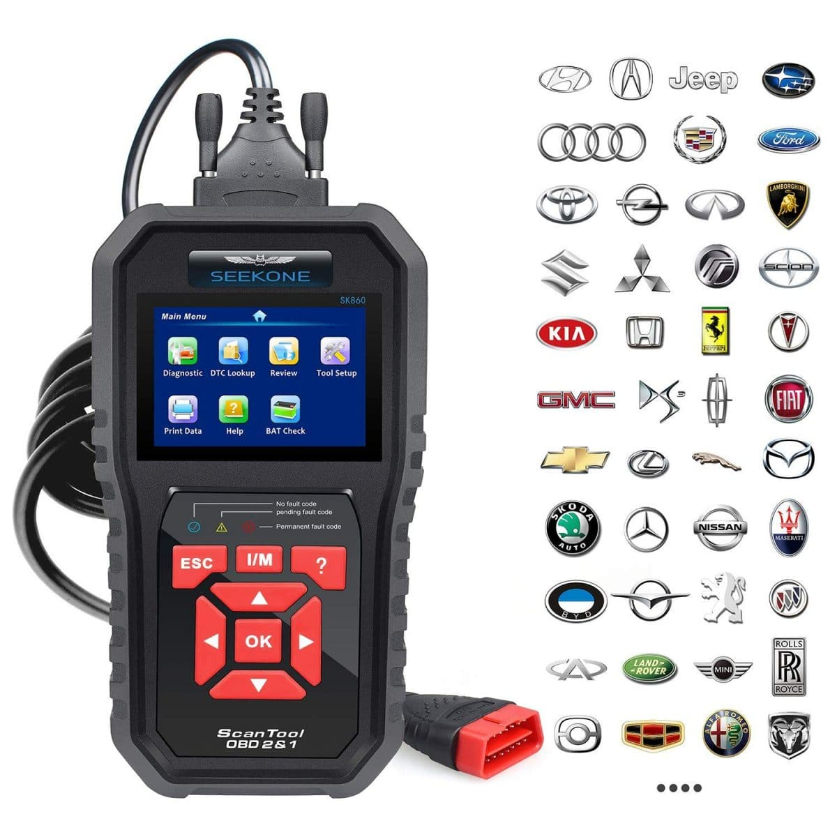 Best Cheap OBD2 Scanners 2019 (Under $50/$100) - BudgetReport