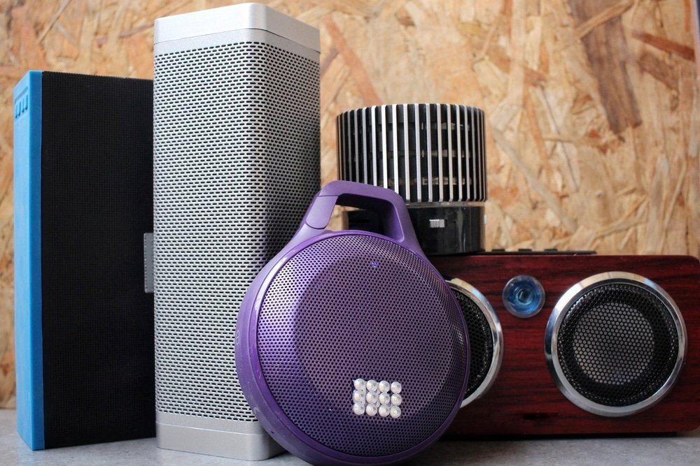Selection of Bluetooth speakers